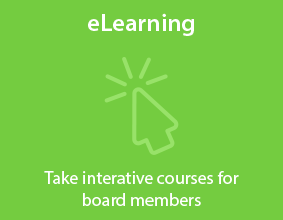 eLearning - Take interative courses for board members.