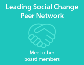 Leading Social Change Peer Network - Meet other board members.